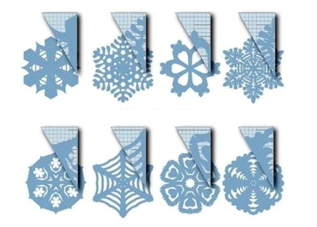 схемы красивых снежинок вязаных крючком