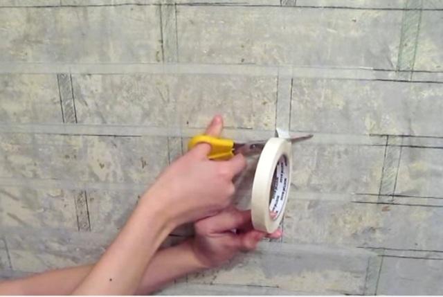Имитация кирпичной кладки в интерьере