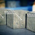 Бетон М200 и М300: применение, характеристики, пропорции