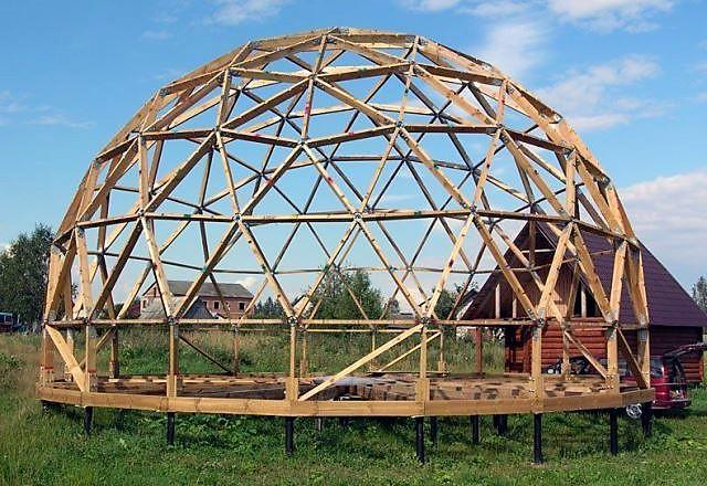 Строительство купольного дома своими руками 36