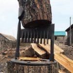 Ручной дровокол Greenween — простой и безопасный помощник для загородного дома