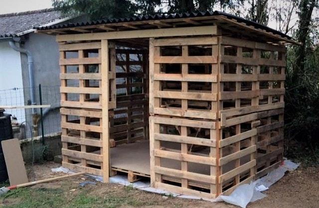Как построить сарай своими руками - строительство 16