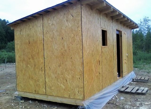 Как построить сарай своими руками - строительство 56