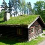 Создаем газон на крыше дома