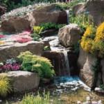 Создайте мелодию журчащего водопада для вашего участка