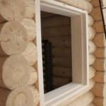 Установка окосячки окон в деревянном доме