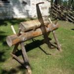 Как сделать козлы для распиловки дров своими руками?