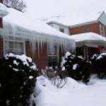 Очистка крыши от снега и наледи