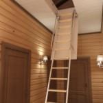 Чердачные лестницы: разновидности и изготовление своими руками