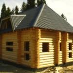 Усадка деревянных домов из бруса и бревна