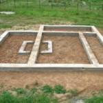 Мелкозаглубленный ленточный фундамент: устройство и технология строительства
