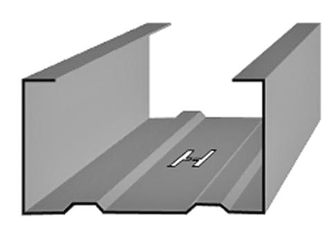 CW профиль для перегородок (стоечный)