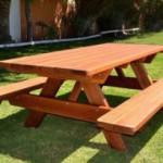 Делаем красивый и удобный стол для дачи своими руками