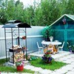 Мангалы с крышей для дачи: примеры и конструирование своими руками