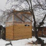 Как я построил маленькую баню 4х3 своими руками (пошаговый фотоотчет) — часть 1
