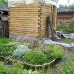 Как я построил маленькую баню 4х3 своими руками (пошаговый фотоотчет) — часть 2