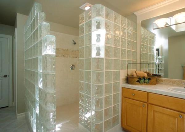 стеклоблоки применение в интерьере и монтаж своими руками