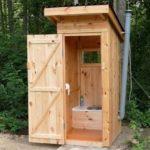 Делаем уличный туалет на даче: варианты и пример поэтапного строительства