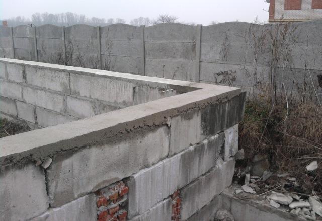 Рассказ застройщика! Строительство фундамента из блоков с цокольным этажом