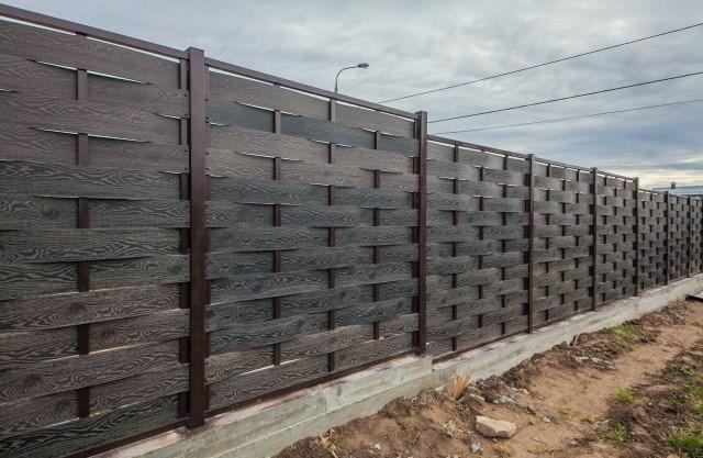 Заборы и ограждения из ДПК – практично, долговечно, эстетично - Дача